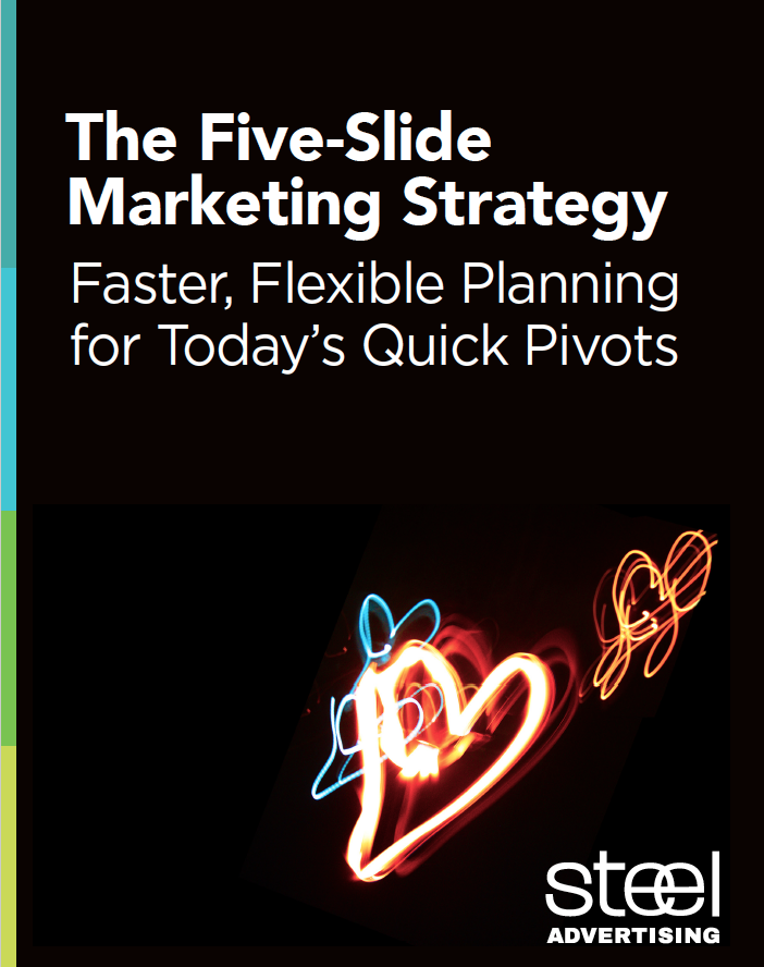 Five-Slide Marketing Strategy e-book