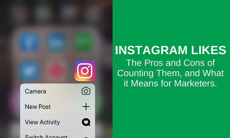 Instagram Influencer Marketing - The Pros & Cons of Counting Likes